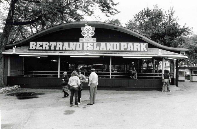 Bertrand S Island Entrance