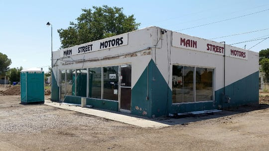 A building at the former location of Main Street Motors is seen Wednesday, Aug. 22, 2018, at 1043 N. Main St., Las Cruces. Main Street Motors is still on Main Street, but is now is located several blocks north of this location.