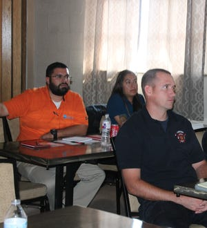 First responders attend the APD sponsored Advanced Investigative Interviewing class Wednesday.