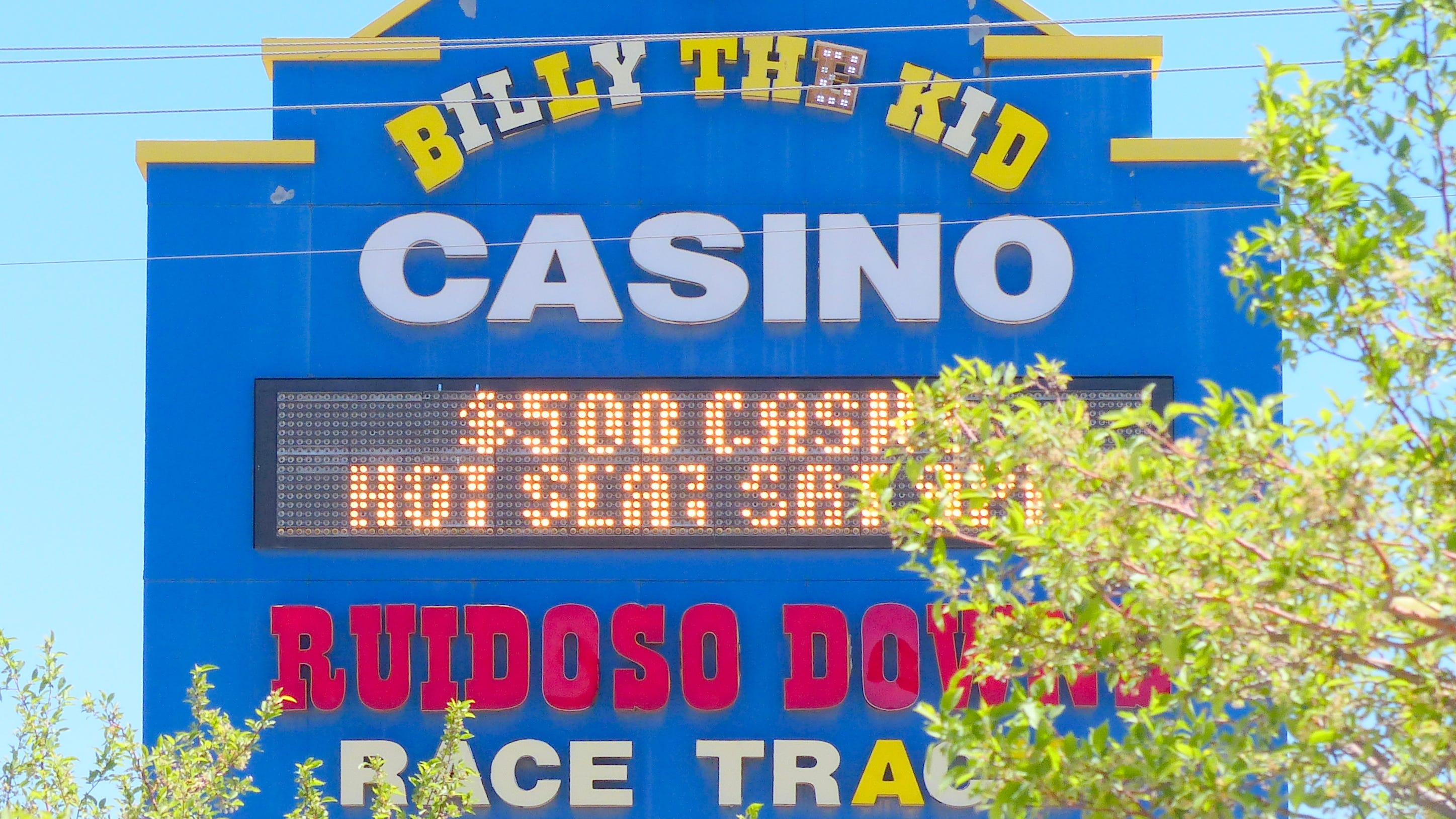 Ruidoso Downs Race Track banned trainer after four horses show signs of distress.