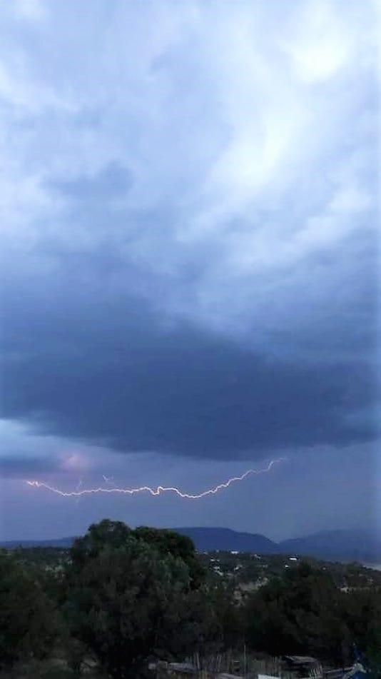 Paula Hendrickson lightning
