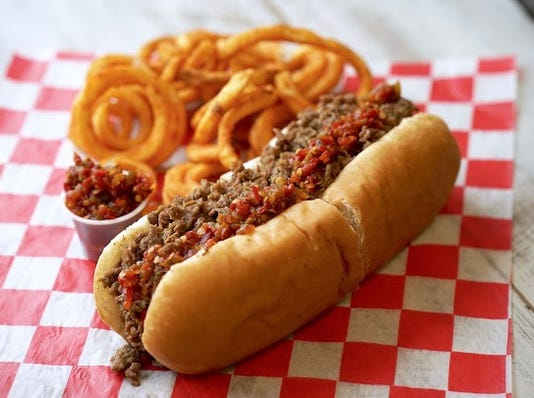 Original Cheese Steak With Spicy Peppers