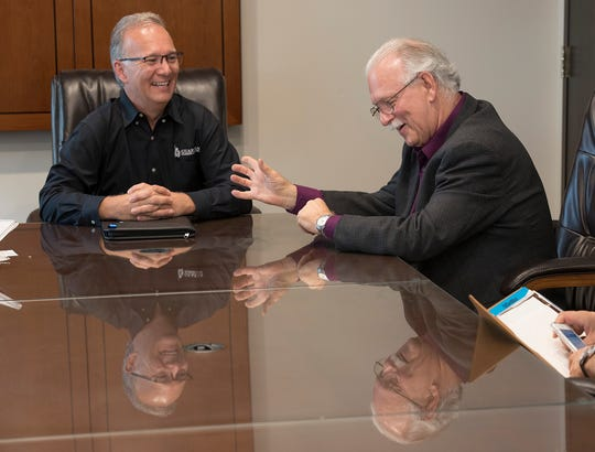 Brothers Larry D'Ascenzo and Tony D'Ascenzo discuss the 50th anniversary of Guardian Plumbing & Heating being incorporated as a business.
