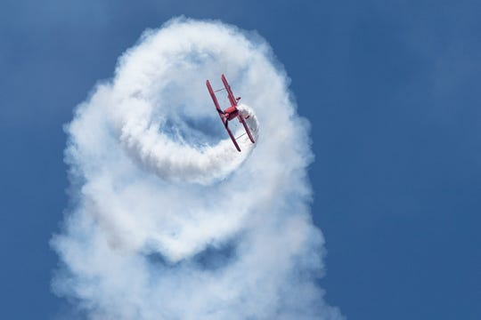 Westland teenager Buster Wurm will get an opportunity to take a spin above the clouds on Thursday.