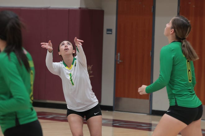 Rancho Mirage volleyball plays Coachella Valley at Rancho Mirage High School, Tuesday, August 21, 2018.