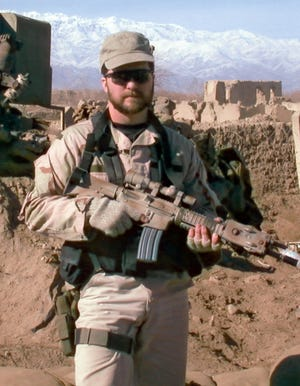 President Donald Trump posthumously awarded the Medal of Honor to Chapman's family at a ceremony Wednesday for his heroism in March 2002 while deployed to Afghanistan.