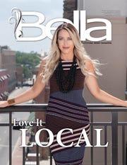Bella's front cover model, Jodie Willis.