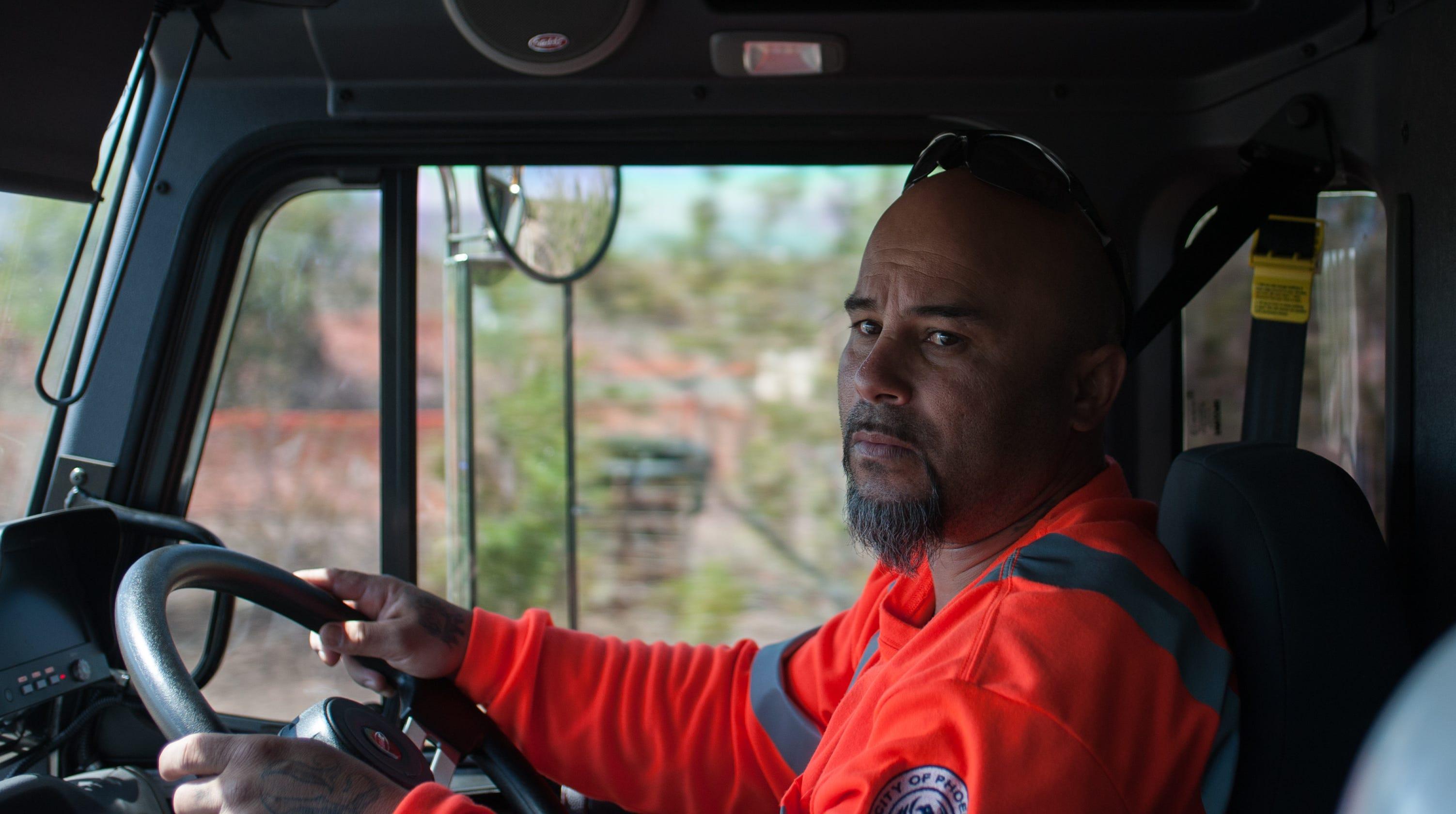 garbage truck driver jobs in phoenix az