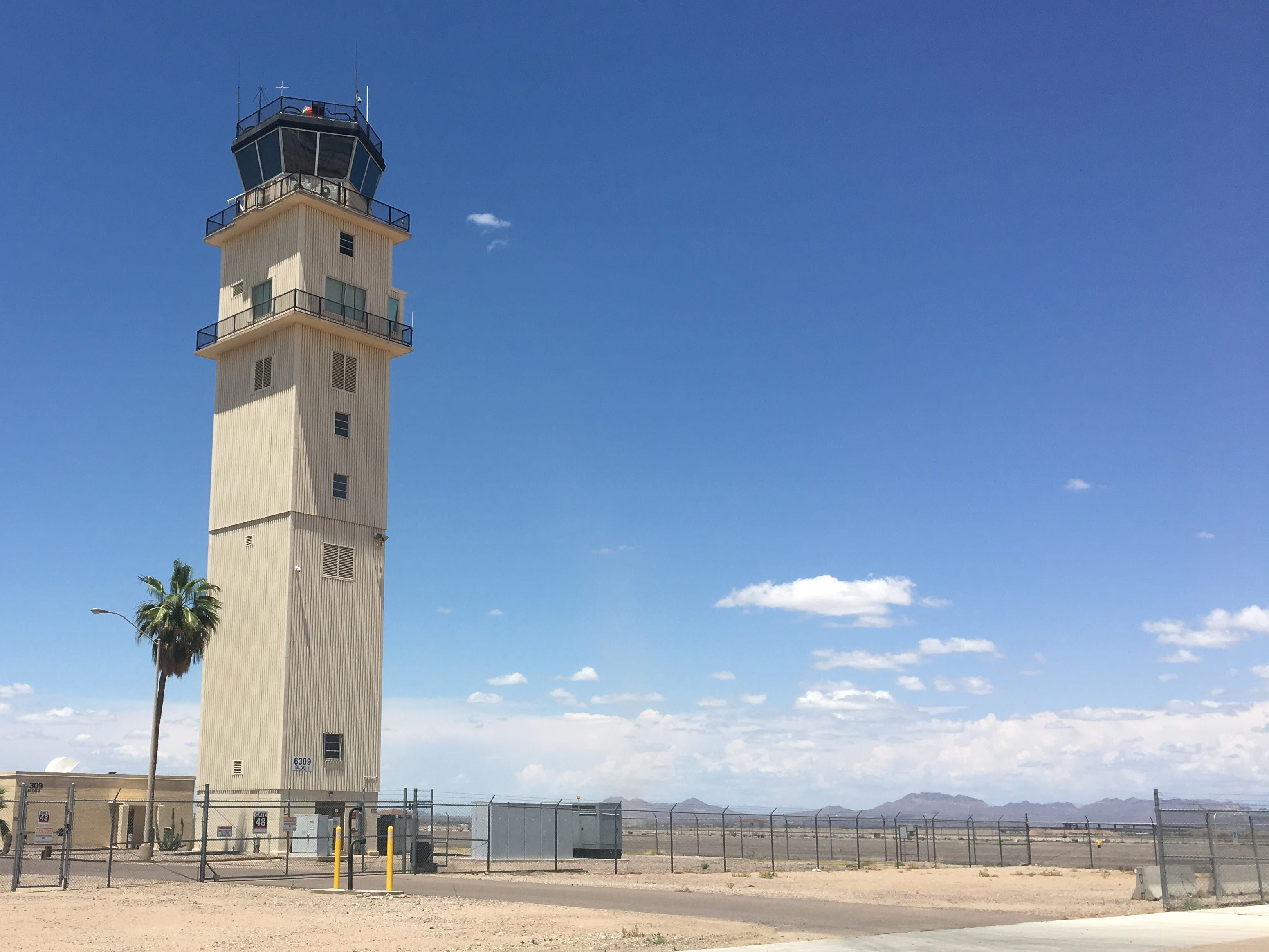 Mesa airport preps for busy spring travel season; lawmakers urge funding for new traffic-control tower