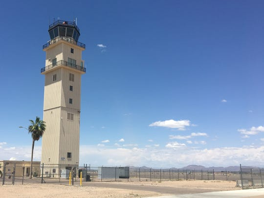 Phoenix-Mesa Gateway Airport's control tower was built by the U.S. Air Force in 1970.