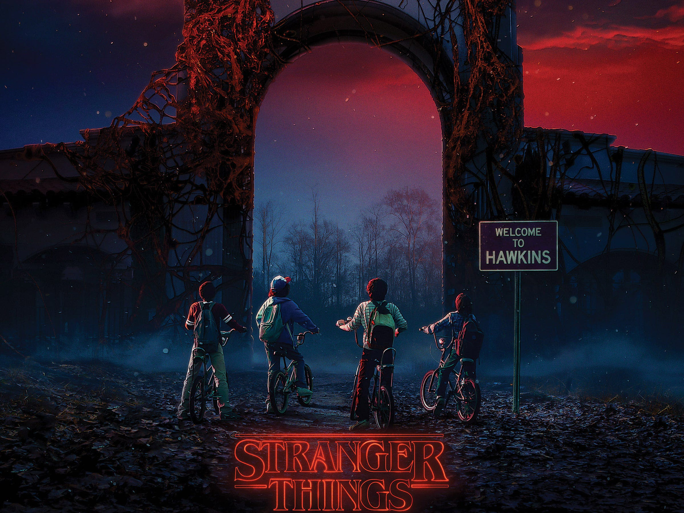 "Universal Studios - Halloween Horror Nights enters an alternate dimension with ""Stranger Things."""