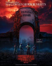 """Universal Studios - Halloween Horror Nights enters an alternate dimension with """"Stranger Things."""""""