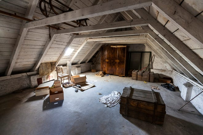 What's in your attic? Be careful of what you store in the attic, especially if you live in warmer climates.