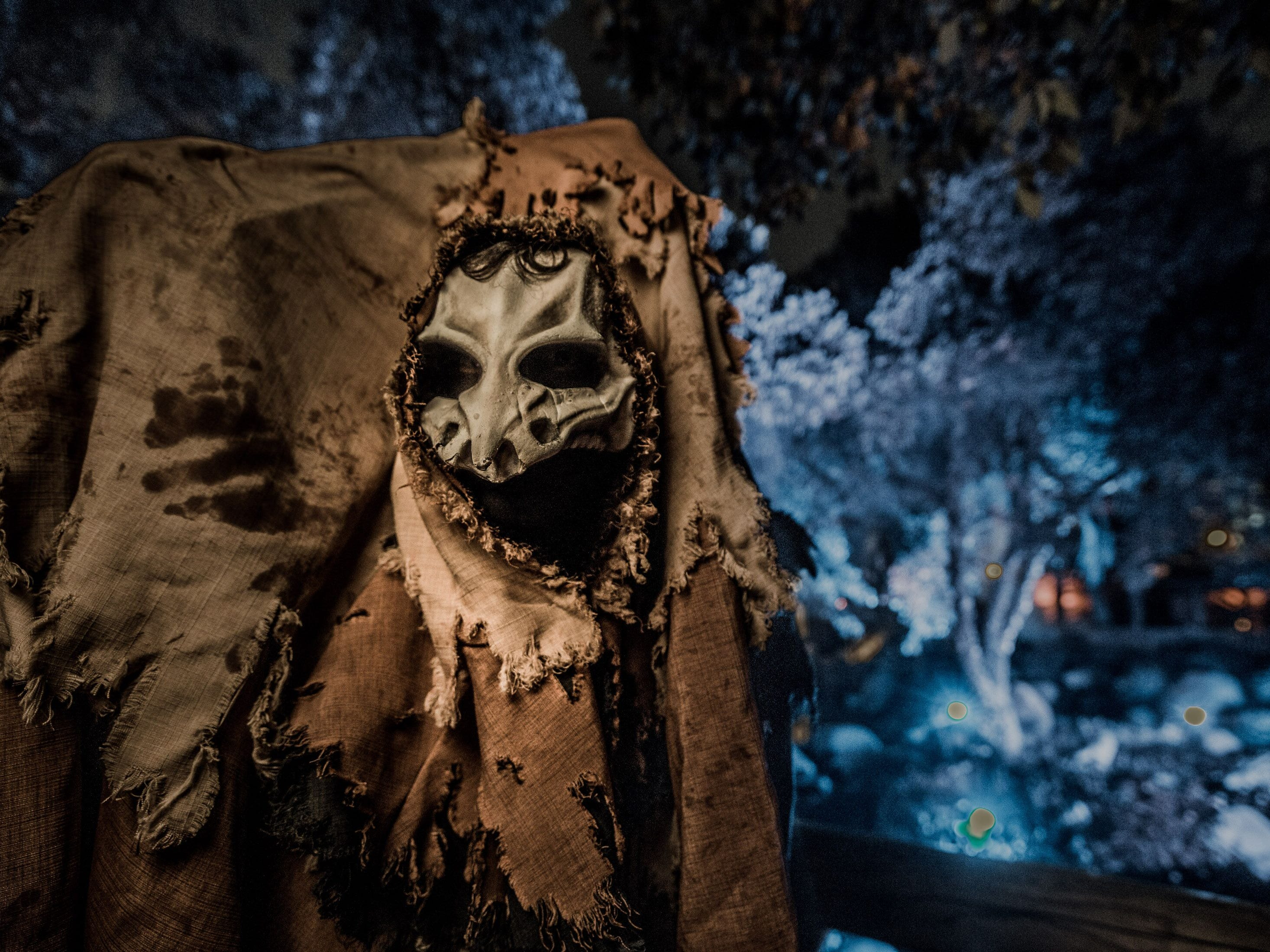 Not sure what this is at Knott's Scary Farm, but it's looking for you.