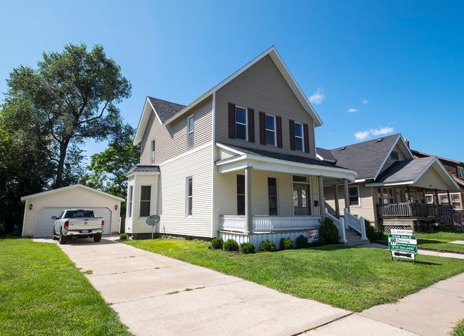 The house at 1515 Seventh Street in Port Huron was damaged in a fire in 2017. The Port Huron Neighborhood and Housing Corp. has rehabilitated the house using funds from the Community Development Block Grant, and it has been placed back on the market.