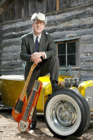 Junior Brown will be performing at 5 p.m. Saturday in Marysville City Park as part of the Hot Wheels Weekend