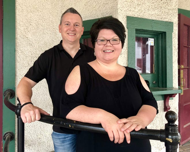 The Star Theatre on West Seminary Street in Mercersburg is being purchased by Mercersburg locals Marcus (left) and Bobbie (right) Abernethy. The couple plans to transform it into a venue for the community, which will host talent shows, concerts, game shows and more.