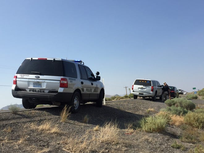 Bureau of Indian Affairs and tribal police from the Pyramid Lake Paiute Tribe have been pulling over drivers on their way to Burning Man this week in the Nixon area.