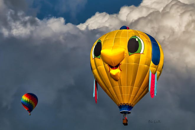 """The """"Gus T. Guppy"""" balloon coming to the Great Reno Balloon Race in 2018."""