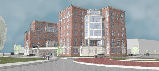 Proposed expansion of Inn on Broadway