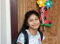 Alanna Lopez heads back to school Aug. 22, 2018.