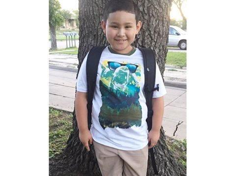Jaden Tarango heads back to school Aug. 22, 2018.