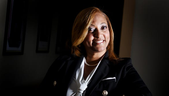 Markey Pierre is a finalist for the 2018 Virginia K. Shehee Most Influential Woman award.