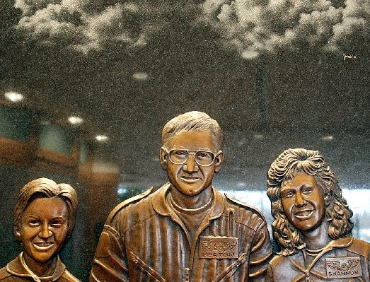 Trauma 1 crew members Melissa Wittry, a flight paramedic, pilot Merton Tiffany and flight nurse Shannon Nolte are memorialized in bronze in the Sioux Valley Memorial Garden. The crew died in a helicopter crash August 20, 1998. The artist for the bronze art is Jurek Jakowicz.