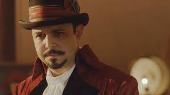 """Armando Gutierrez as the ringmaster in the live action version of """"The Little Mermaid."""""""
