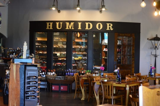 The Vineyard Market also has a humidor and cigar bar next door.