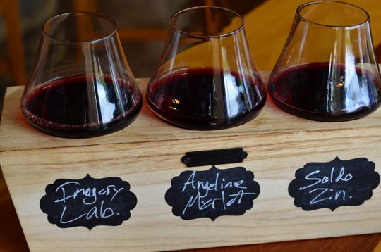 You can design your own flight, buy a premade flight, or buy a bottle of wine and open it at The Vineyard Market, 1759 W. Missouri  J, Ozark.