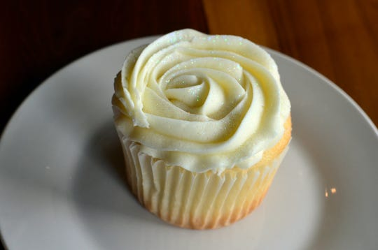 The strawberries and champagne cupcake ($4.50) is divine and a must for any cupcake lover.