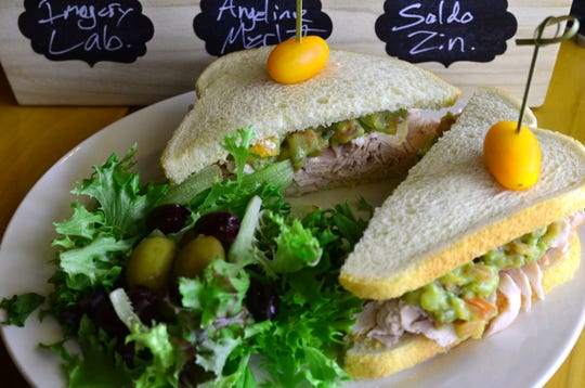 The turkey guacamole sandwich ($10) was good, and the guacamole was excellent, but I would prefer the bread toasted.