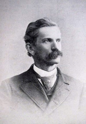 Thomas D. Ranson in middle age, as an attorney practicing in Staunton.