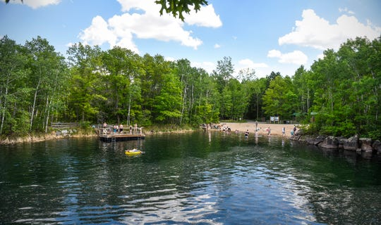 Take a leisurely hike through Quarry Park and Nature Preserve in Waite Park this Memorial Day weekend, or hit up Quarry 11, pictured here, for a swim if the weather is warm!