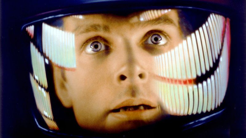 "Space traveler David Bowman (Keir Dullea) has computer issues in ""2001: A Space Odyssey"" (1968), opening Friday."