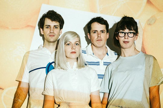 """The droning, female-led, critically lauded Canadian band Alvvays take the stage after 7 p.m. Saturday for the annual Last Call Before Fall concert on the Langford Green. It's free and open to the public. No coolers, outside food or drink. Expect to hear plenty of tunes from the group's latest album """"Antisocialties."""""""