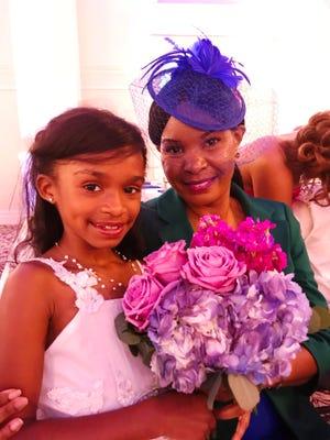 Bella J. Rodriguez and her aunt, Dr. Daphne Cooper.