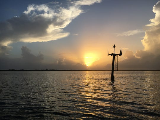 Another perfect sunrise greets anglers on the Treasure Coast