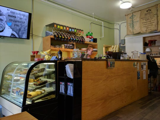 Inside the Rio Coco Cafe at 1412 21st St. in Vero Beach. There is a second location near the airport at 3300 43rd Ave.