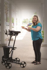 Due to a problem with her sacroiliac joint, Nina Cecilie Ulland Keretzis had lost her independence and used a walker to maintain her balance. Since having surgery, she now sees life in terms of the opportunities that await her.