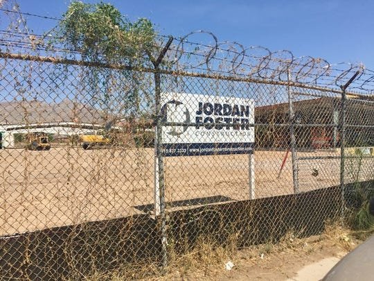 Jordan Foster crews have begun work at the site of the new Chamizal Recreation Center.