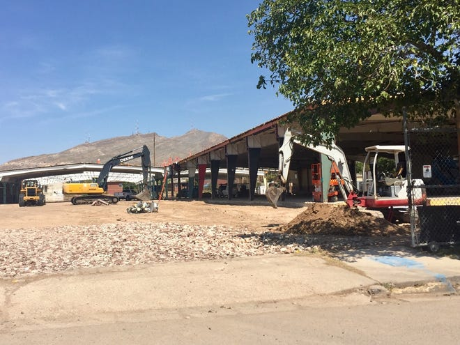 Jordan Foster Construction crews have begun work at the site of the new Chamizal Recreation Center, 2119 Cypress Ave.