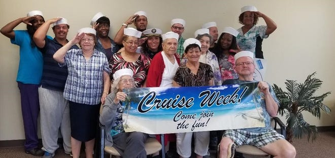 It's Cruise Week at Active Day of Vineland, an adult medical day services center.
