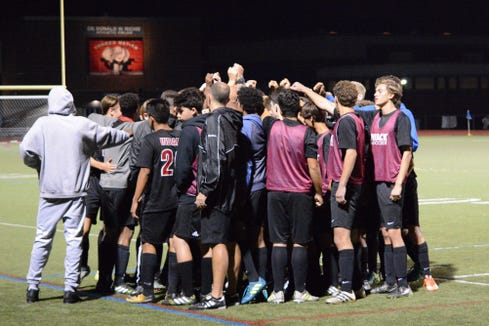 Nyack upset Somers in the quarterfinals and went on to play for a Class A title against Byram Hills.