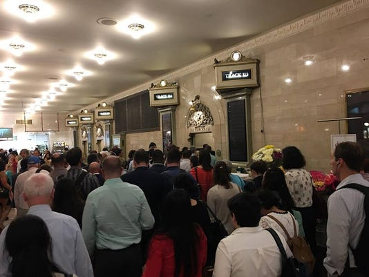 Grand Central Crowds
