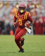 Iowa State Cyclones wide receiver Deshaunte Jones