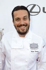 Chef Fabio Viviani, pictured in 2013,  will be at his Chuck Lager's - American Tavern restaurant on Saturday from 5 to 7 p.m. The event is open to the publc.