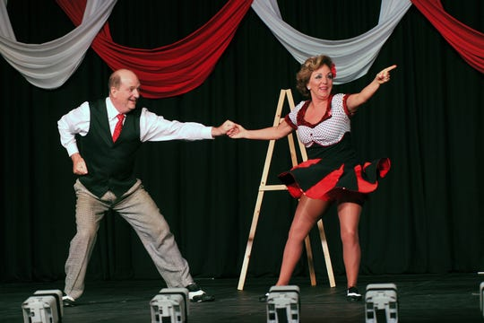 Debi Walters and Chandler Smith rocked the joint and also raised the most money during the Dancing for the Stars 2017. America's Small Business Development Center at Midwestern State University and Big Brothers Big Sisters benefit from the fundraiser.