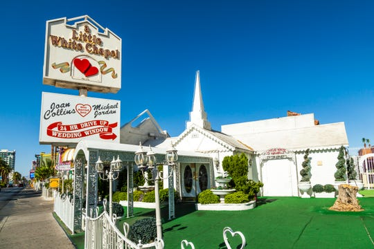 Little White Wedding Chapel  in Las Vegas